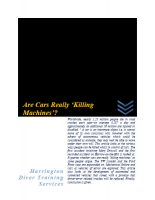 are-cars-really-killing-machines