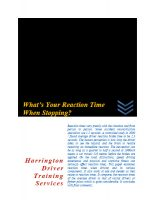 reaction-time-when-stopping