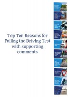 Top-ten-reasons-for-failing-the-driving-test-with-supporting-comments