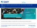 CIHT - The Chartered Institution of Highways & Transportation